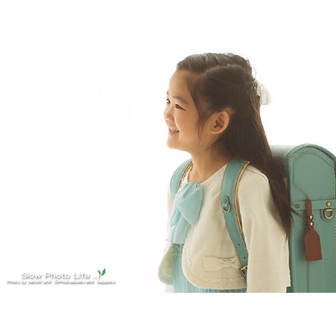 みくちゃんの入学記念写真