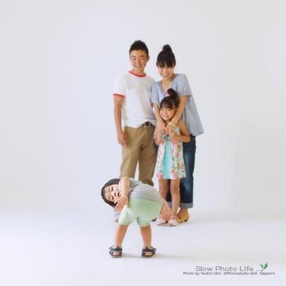 ゆうだい君の家族写真