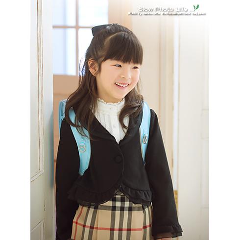 うみかちゃんの入学写真