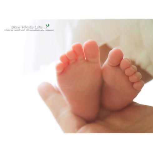 きこちゃんの足の写真