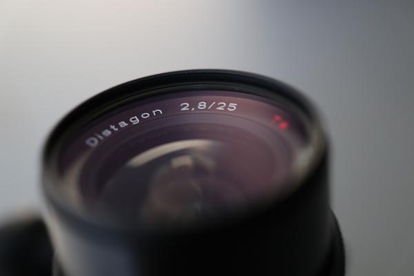カールツァイス・ディスタゴン25mm/F2.8