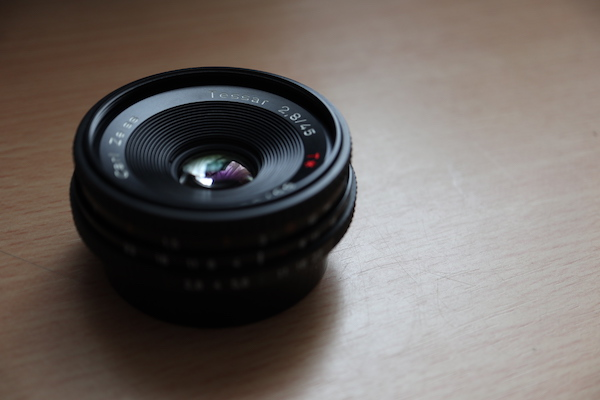 Carl Zeiss Tessar T* 45mm F2.8