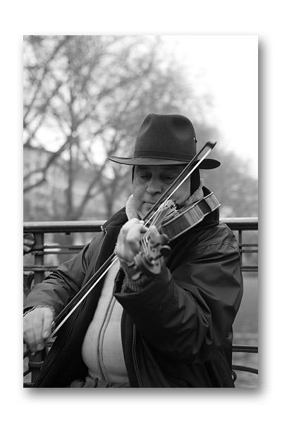 バイオリンの人