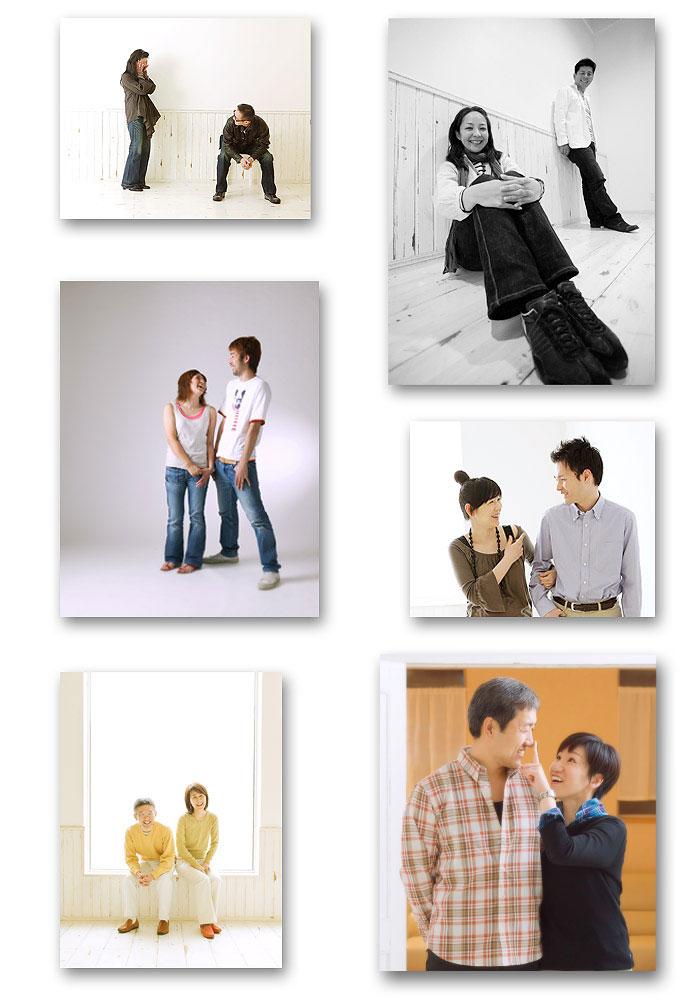札幌石井写真館の結婚記念日写真2