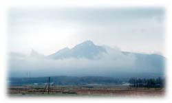 駒ヶ岳がきれいにみえましたぁ