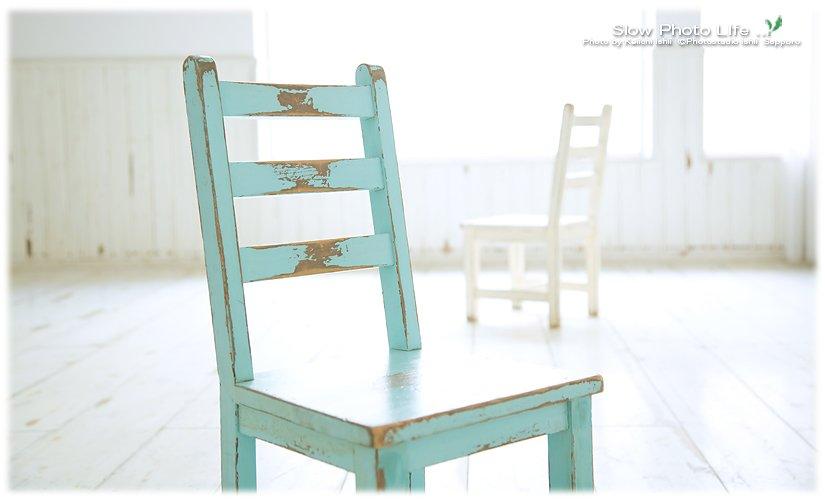 石井写真館の子供椅子
