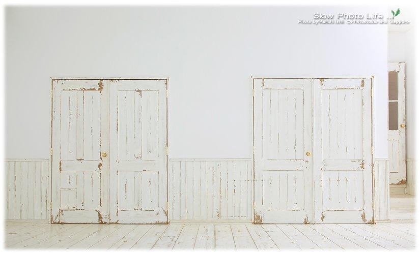 スタジオのドア